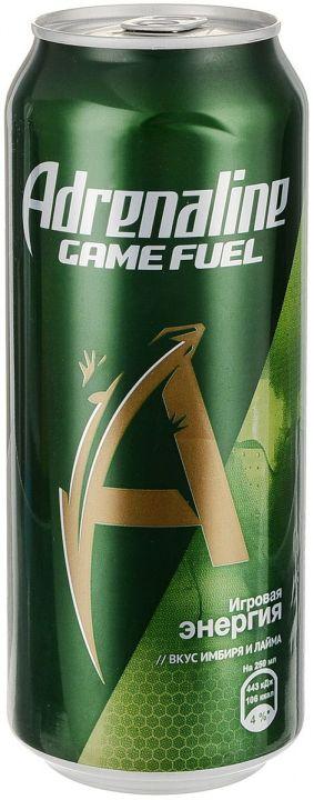 Энерг. напиток Адреналин 0,449л Игровая Энергия Имбирь-лайм ж/б Пепси