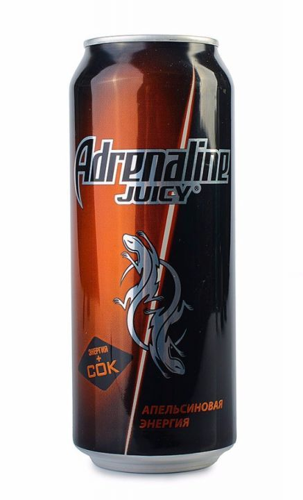 Энерг. напиток Адреналин 0,499л Juicy ж/б Пепси
