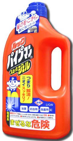 Lion Очищающий и удаляющий запах гель для водопроводных и канализационных труб Чистый дом 1 л