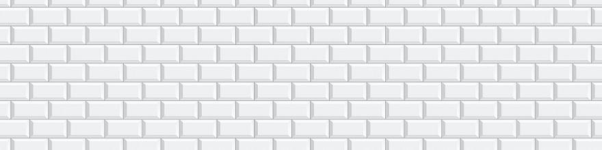 Фартук для кухни «Белая классическая плитка» Производитель Виват