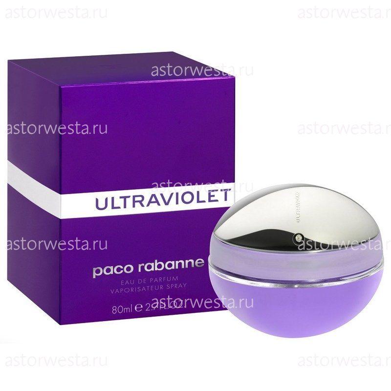 Парфюмерная вода Paco Rabanne Ultraviolet, 80 мл