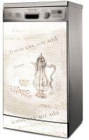 Наклейка на посудомоечную машину -  Лимон можно не добавлять