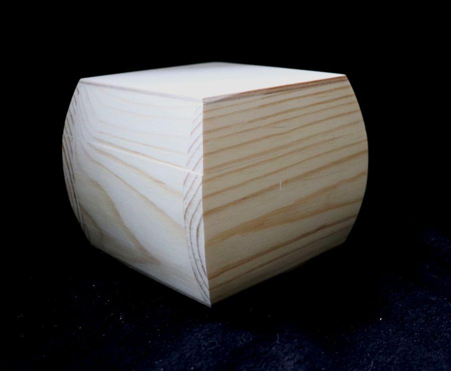 Шкатулка для декупажа, массив сосны, 13*13*10 см
