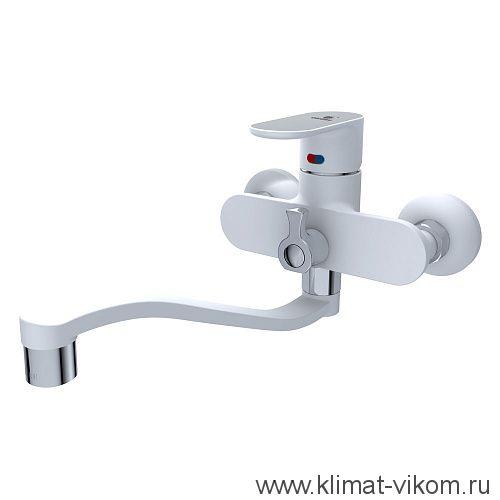 Смес. ванна 40 мм Calorie белый 2533B45M