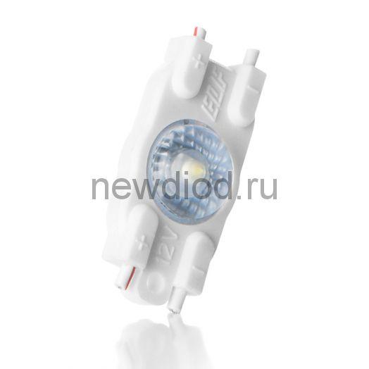 Модуль светодиодный ELF VIVO-2019, 1SMD диод 2835, с линзой, 12В, IP67, белый