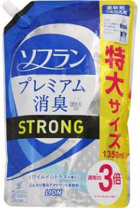 Lion Soflan Aroma Natural Strong Кондиционер для белья с усиленной формулой и натуральным ароматом диких цитрусовых 570 мл