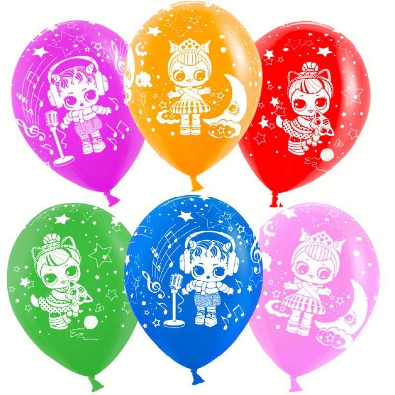Воздушный шарик с куклой