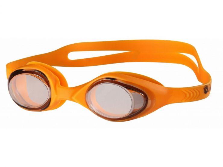 Очки для плавания INDIGO G6100/6106 оранжевые
