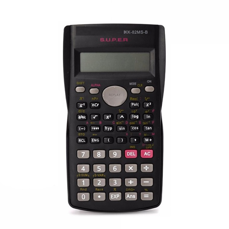 Двухстрочный инженерный 10-разрядный калькулятор KK-87MS