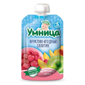 Умница Фруктово-ягодный салатик 100г