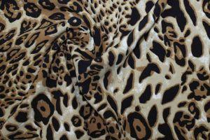Блузочная ткань тиффани принт VT-10169/D2/C#1