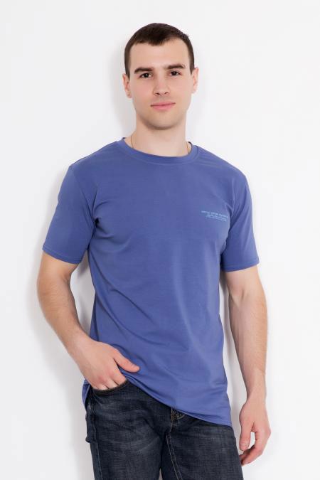 """Мужская футболка """"Томас"""" синяя"""