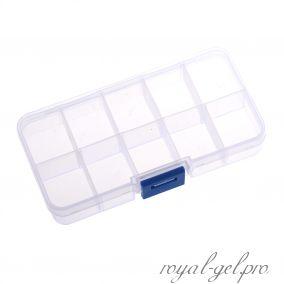 Коробка для хранения 10 ячеек