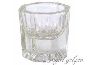 Стакан для ликвида стеклянный