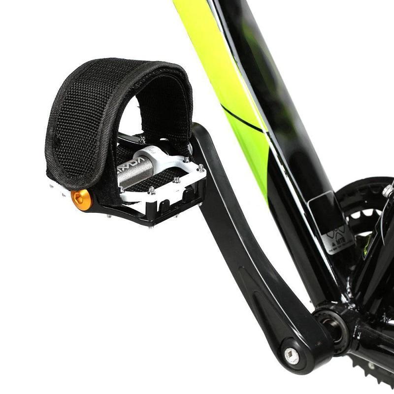 Ремешки (Туклипсы) Для Велосипедных Педалей, 2 Шт, Цвет Черный