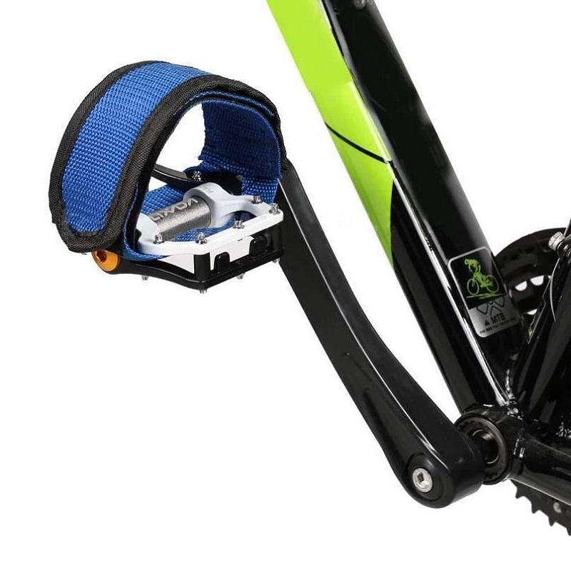 Ремешки (Туклипсы) Для Велосипедных Педалей, 2 Шт, Цвет Синий