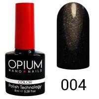 Гель-лак цветной Opium №004, 8 мл