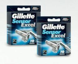 Лезвия Gillette Sensor Excel  (10шт)