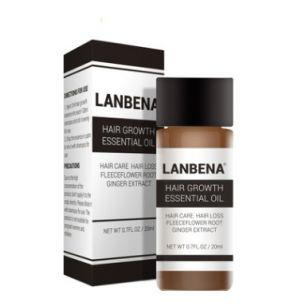Lanbena - Сыворотка против выпадения, для укрепления и роста волос Hair Growth Essential Oil(НОВАЯ УПАКОВКА).(0380)