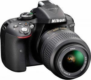 Nikon D5300 kit 18–55 VR