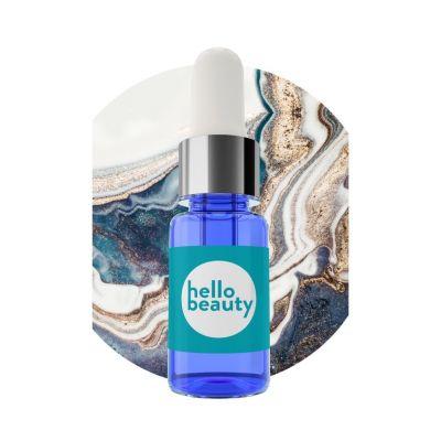Hello Beauty Минеральная сыворотка c коктейлем минералов, заряжающая энергией и сокращающая следы усталости