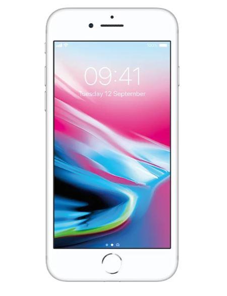 Смартфон Apple iPhone 8 64GB Silver MQ6H2RU/A
