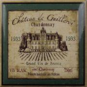Wine Decors Label 4pz
