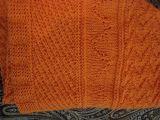 Скандинавский платок(Оранжевый)