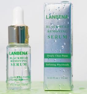 Lanbena Blackhead Removing Serum - сыворотка для очистки и сужения пор.(0649)