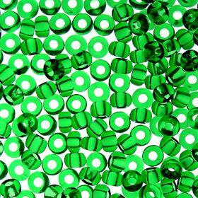 Бисер чешский 50120 прозрачный зеленый Preciosa 1 сорт