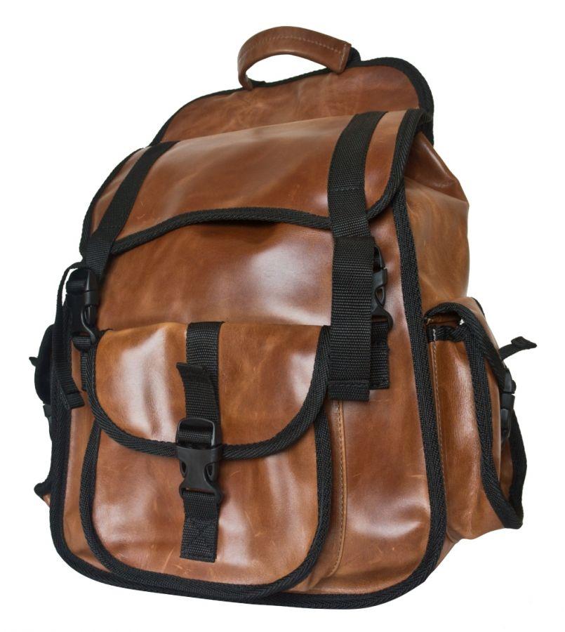 Кожаный рюкзак Carlo Gattini - Alprato cognac