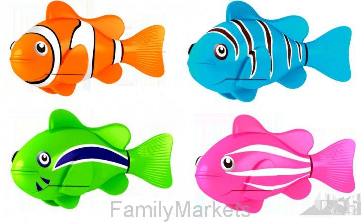 Роборыбка (Robo Fish) КЛОУН интерактивная игрушка