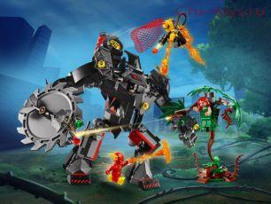 Конструктор Lari Супер герои Робот Бэтмена против робота ядовитого Плюща 11234 (76117) 419 дет