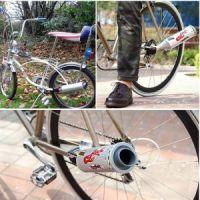 Пластиковая турбина на велосипед (3)