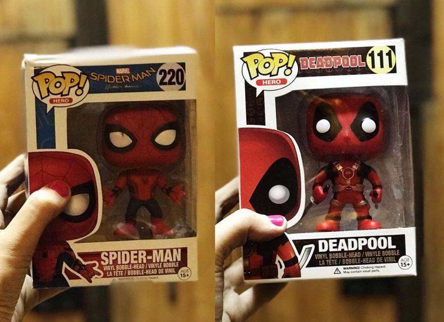 Дедпул и Человек-паук Pop