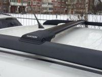 Багажник на рейлинги Subaru XV, FicoPro R-54, черный, крыловидные аэродуги