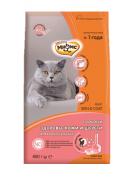 Мнямс Skin&Coat Сухой корм с лососем для взрослых кошек для кожи и шерсти 0,4 кг