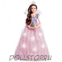 Коллекционная кукла Барби Щелкунчик Клара в святящемся платье - Disney Clara's Light-Up Dress Barbie Doll