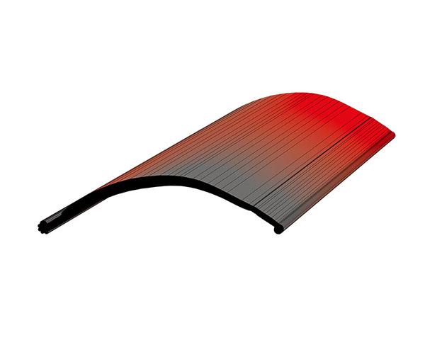 Профиль от налива для сдвижных крыш (с верхним замком) L=14 м/п