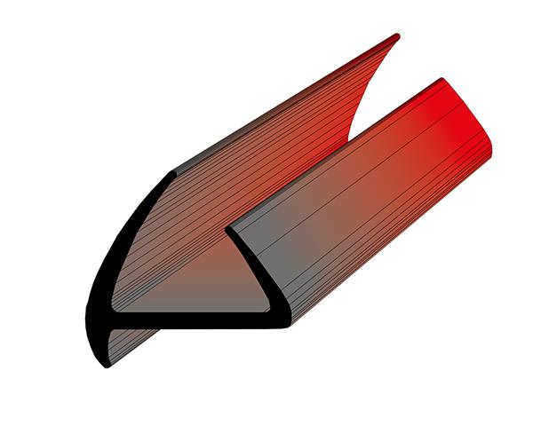 Профиль уплотнительный L=2.6 м/п ширина 45 мм