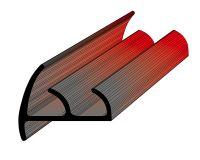 Профиль уплотнительный для рефрижератора ширина 50 мм