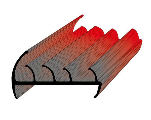 Профиль уплотнительный ширина 88 мм