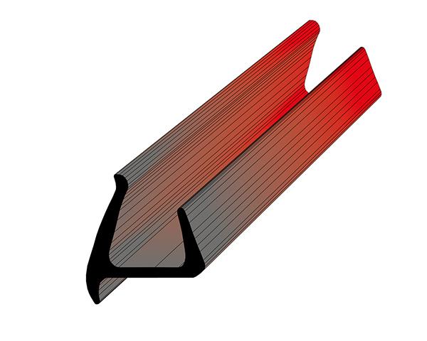 Профиль уплотнительный ширина 30 мм