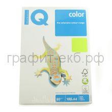 Бумага А4 IQ NEOGN зеленая 100л