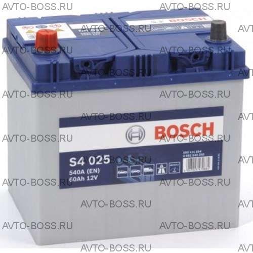 Автомобильный аккумулятор 0092S40250 BOSCH (S4 025) 60 a/h прям 560411054 D23 60 Ач