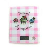 Кухонные весы Touch Screen Kitchen Scale LBS-6032, цвет розовый (1)