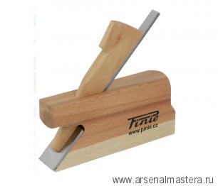 Доборный деревянный фальцгобель PINIE КЛАССИК 160 x 24 x 155 мм, лезвие 24 мм, угол 45 арт. 11-24C/S