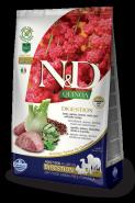 Farmina N&D Dog Quinoa Digestion Lamb Ягненок, киноа, фенхель, мята и артишок. Поддержка пищеварения 800г