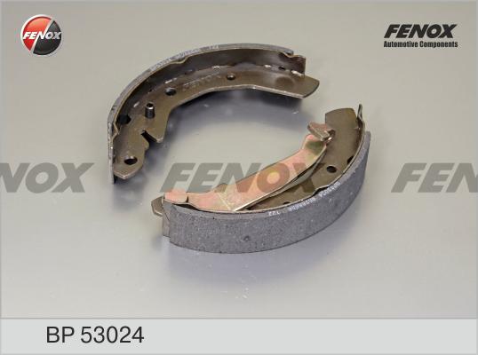 Колодки тормозные задние барабанные к-т BP53024 Fenox