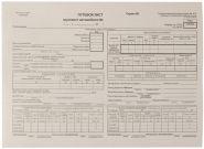 Бланки ПУТЕВОЙ ЛИСТ ГРУЗОВОГО АВТОМОБИЛЯ, А4, 100 листов (арт. Плга4П)